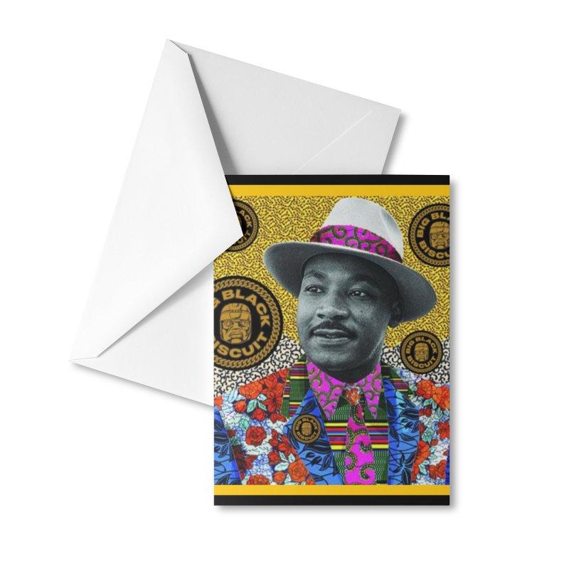 M.L.K. Accessories Greeting Card by BigBlackBiscuit's Artist Shop