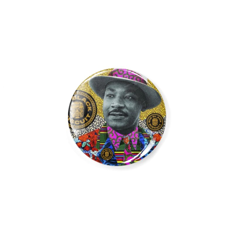 M.L.K. Accessories Button by BigBlackBiscuit's Artist Shop