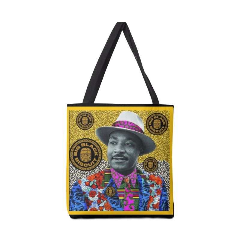 M.L.K. Accessories Bag by BigBlackBiscuit's Artist Shop