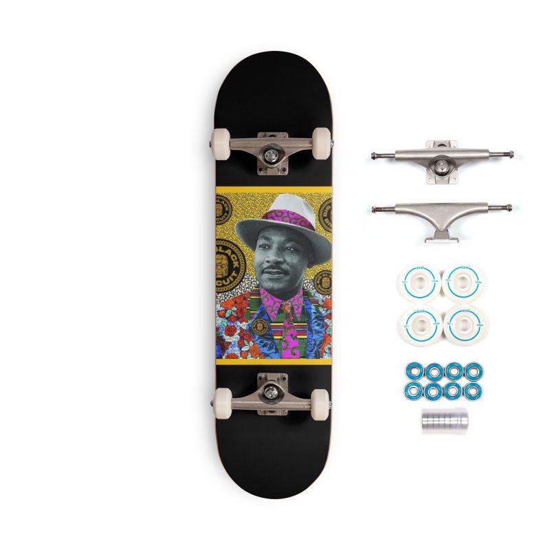 M.L.K. Accessories Skateboard by BigBlackBiscuit's Artist Shop