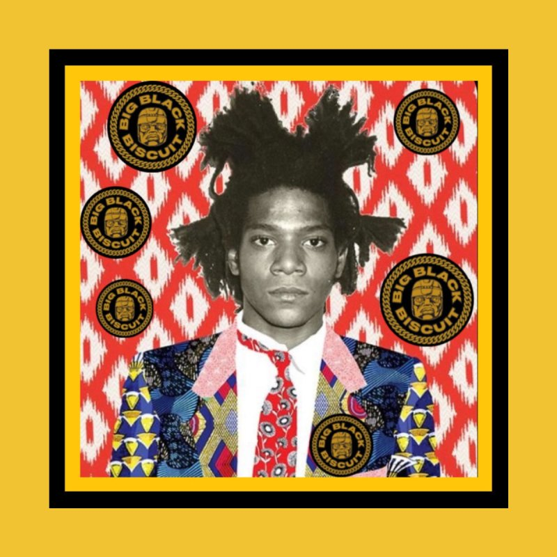 Jean Michel Basquiat Accessories Face Mask by BigBlackBiscuit's Artist Shop