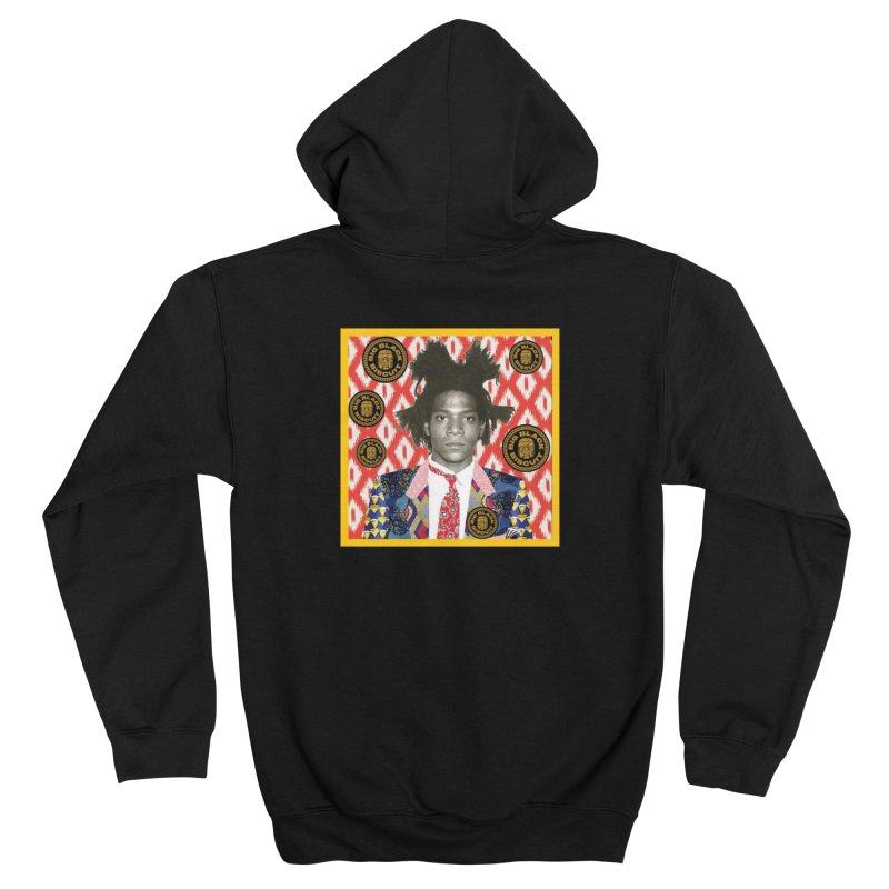 Jean Michel Basquiat Men's Zip-Up Hoody by BigBlackBiscuit's Artist Shop