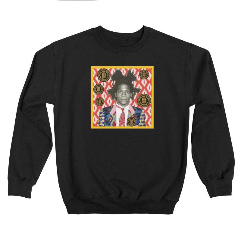 Jean Michel Basquiat Men's Sweatshirt by BigBlackBiscuit's Artist Shop