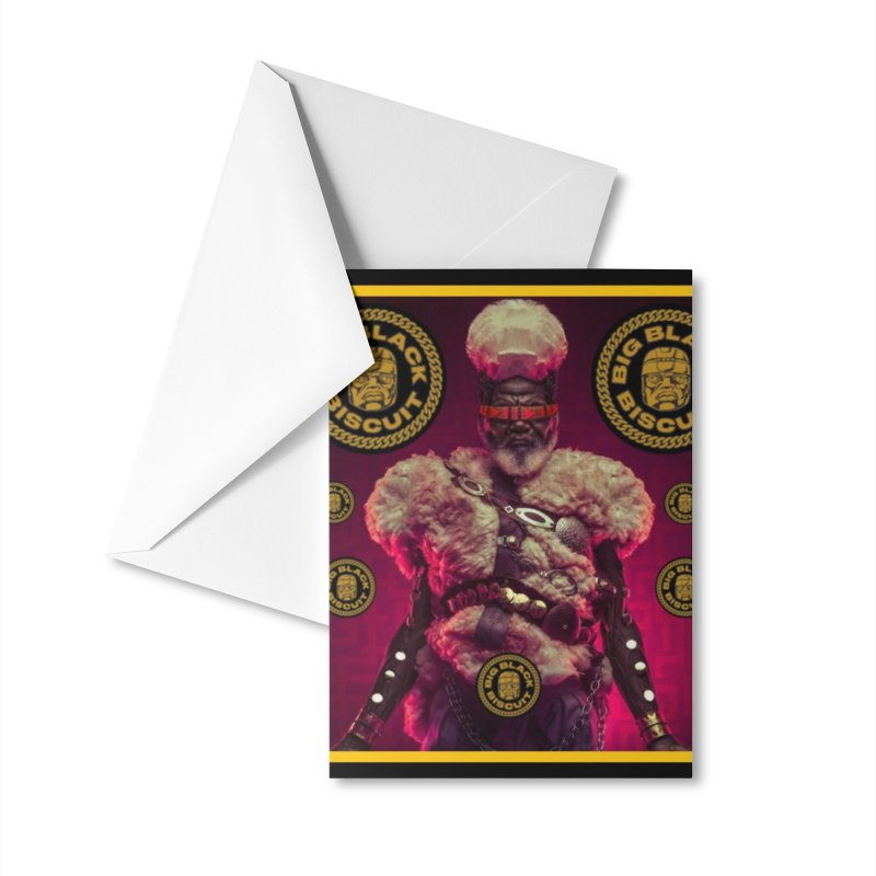 Supreme Overstanding Accessories Greeting Card by BigBlackBiscuit's Artist Shop