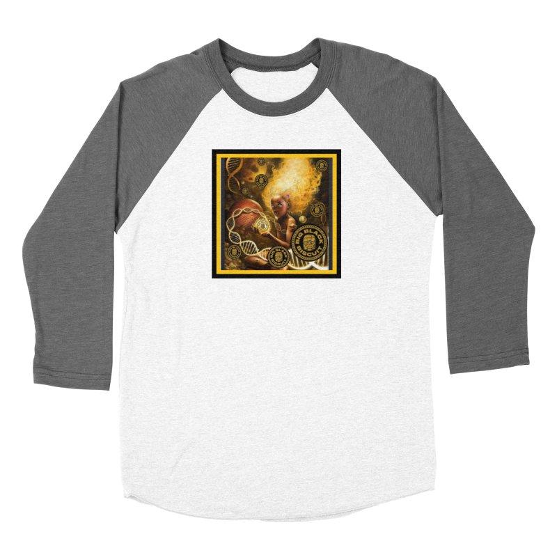 Blonde Brown Baby Women's Longsleeve T-Shirt by BigBlackBiscuit's Artist Shop