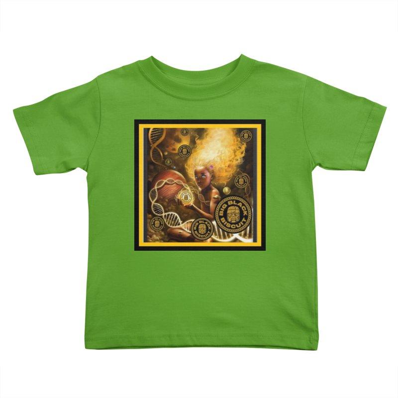 Blonde Brown Baby Kids Toddler T-Shirt by BigBlackBiscuit's Artist Shop