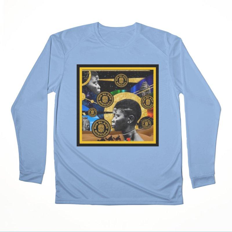 SuperSonicSista Men's Longsleeve T-Shirt by BigBlackBiscuit's Artist Shop