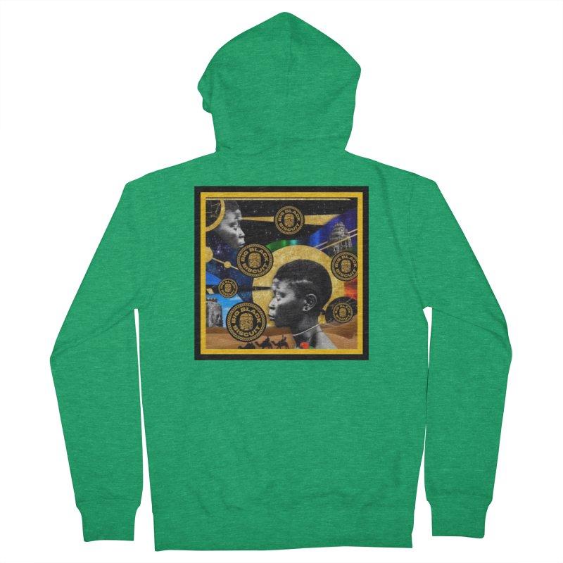 SuperSonicSista Men's Zip-Up Hoody by BigBlackBiscuit's Artist Shop