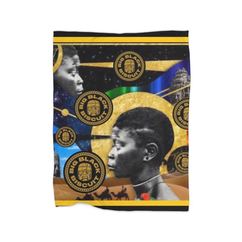 SuperSonicSista Home Blanket by BigBlackBiscuit's Artist Shop