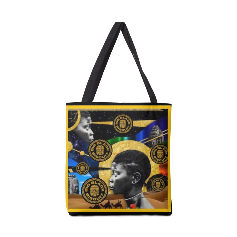 SuperSonicSista Accessories Bag by BigBlackBiscuit's Artist Shop