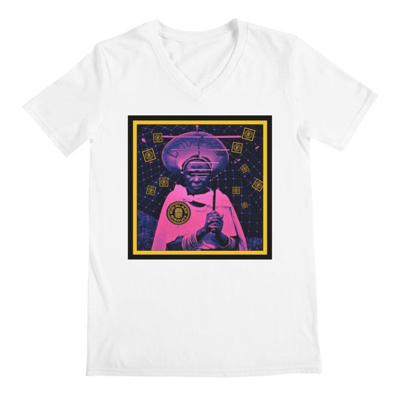 Cosmic Ambiance Men's V-Neck by BigBlackBiscuit's Artist Shop