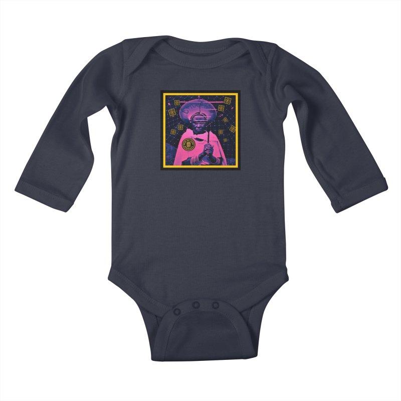 Cosmic Ambiance Kids Baby Longsleeve Bodysuit by BigBlackBiscuit's Artist Shop