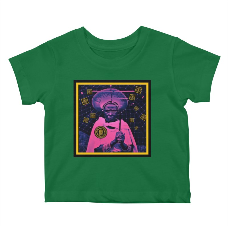 Cosmic Ambiance Kids Baby T-Shirt by BigBlackBiscuit's Artist Shop
