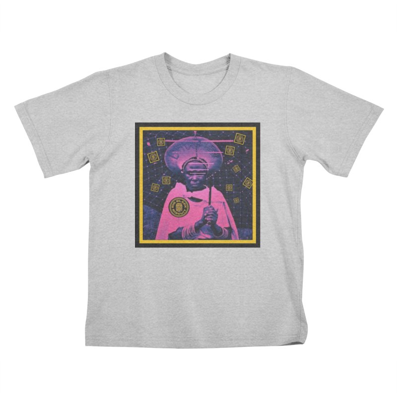 Cosmic Ambiance Kids T-Shirt by BigBlackBiscuit's Artist Shop