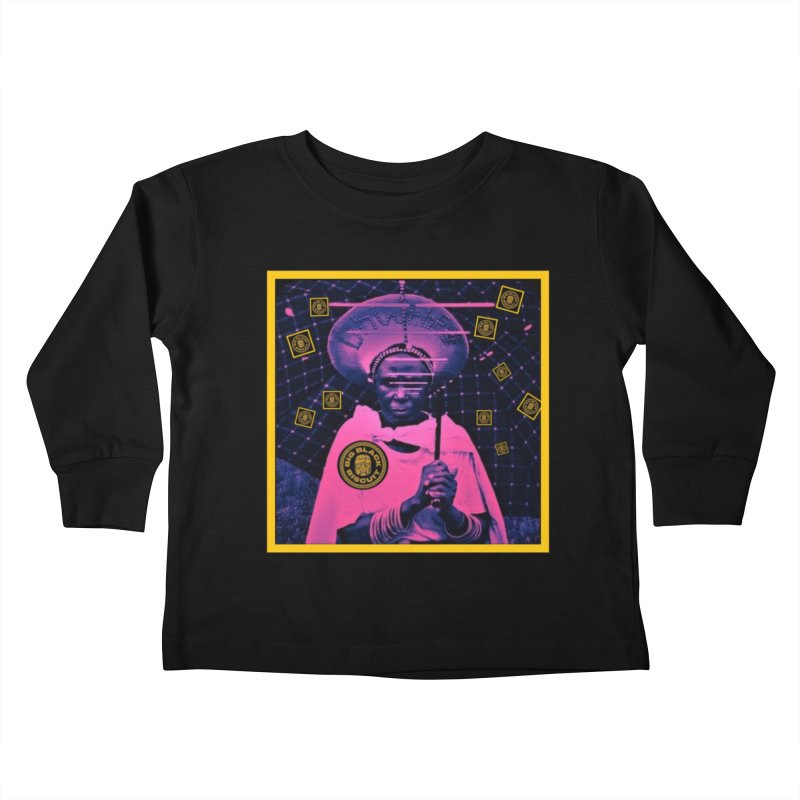 Cosmic Ambiance Kids Toddler Longsleeve T-Shirt by BigBlackBiscuit's Artist Shop