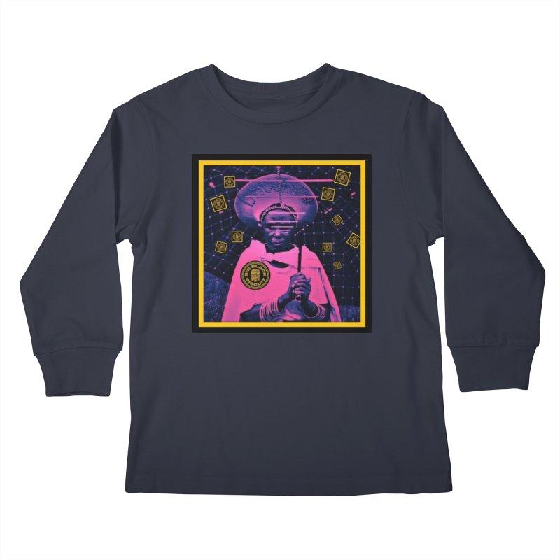 Cosmic Ambiance Kids Longsleeve T-Shirt by BigBlackBiscuit's Artist Shop