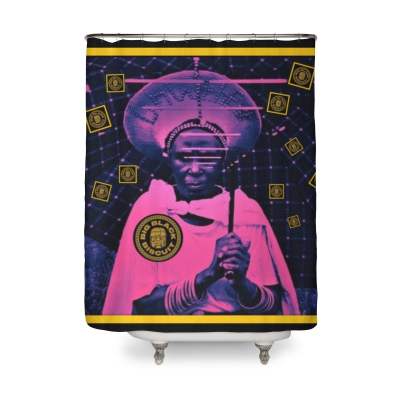Cosmic Ambiance Home Shower Curtain by BigBlackBiscuit's Artist Shop