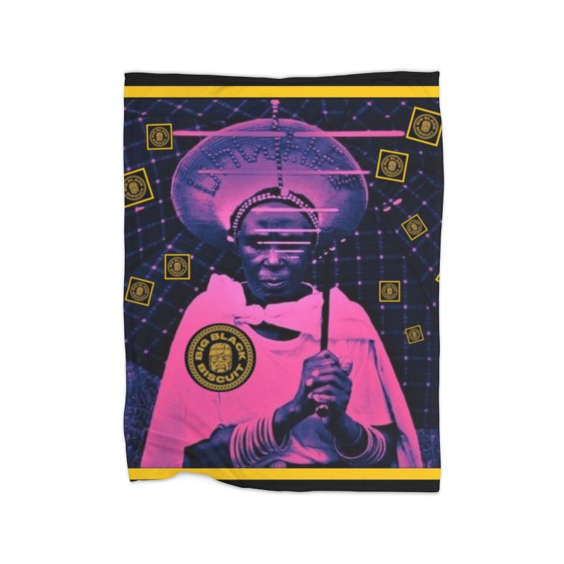 Cosmic Ambiance Home Blanket by BigBlackBiscuit's Artist Shop