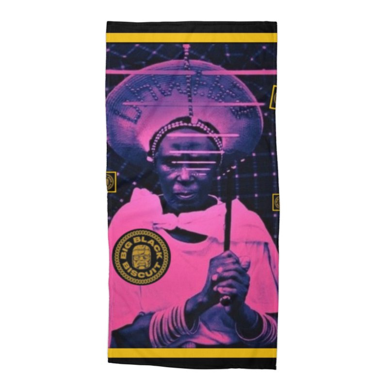 Cosmic Ambiance Accessories Beach Towel by BigBlackBiscuit's Artist Shop
