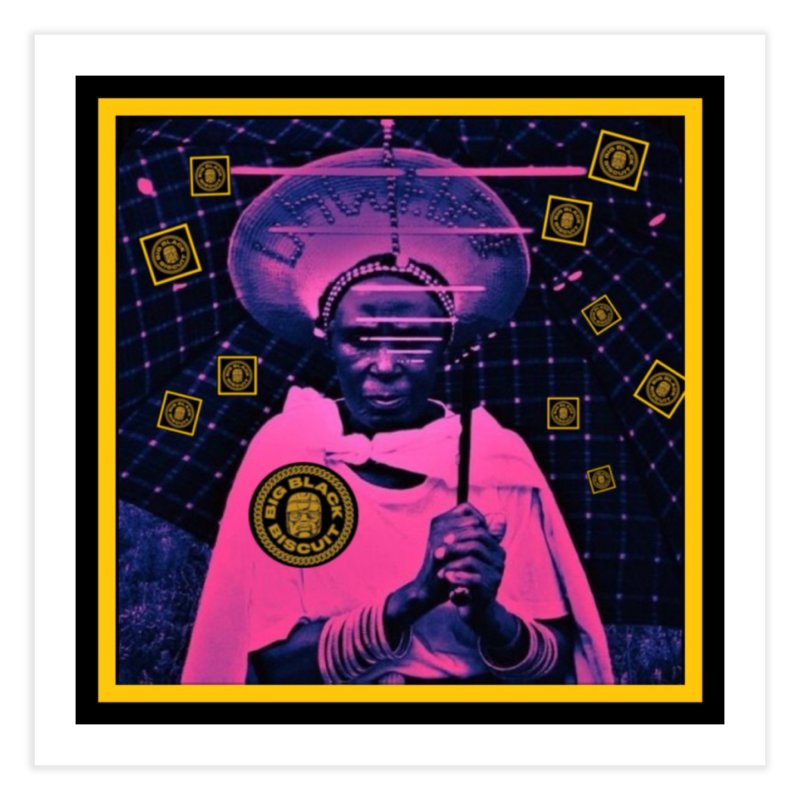 Cosmic Ambiance Home Fine Art Print by BigBlackBiscuit's Artist Shop