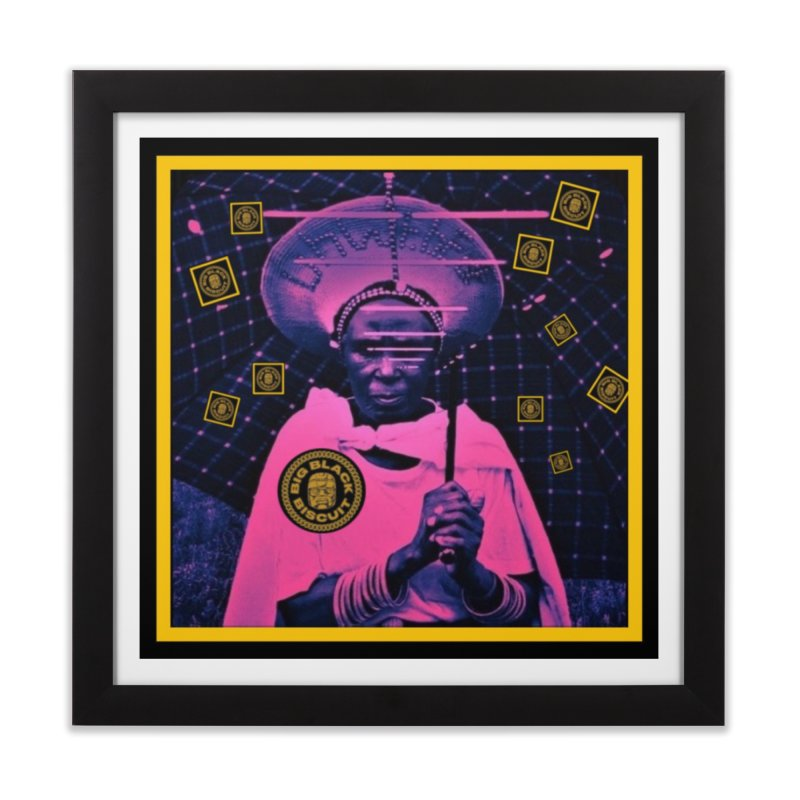 Cosmic Ambiance Home Framed Fine Art Print by BigBlackBiscuit's Artist Shop