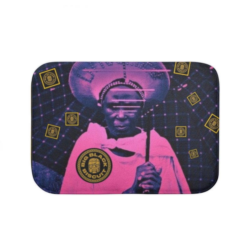 Cosmic Ambiance Home Bath Mat by BigBlackBiscuit's Artist Shop