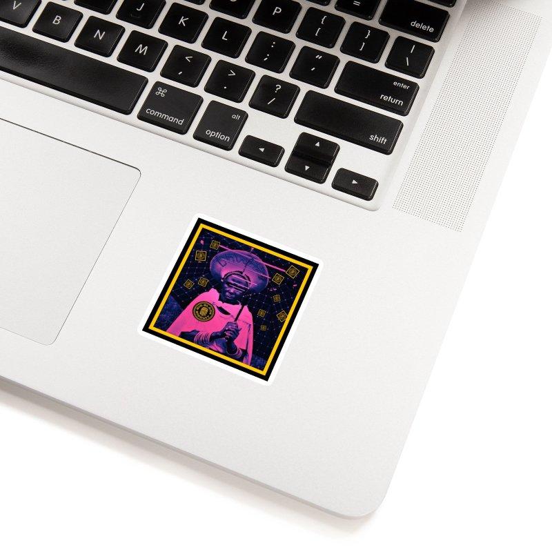 Cosmic Ambiance Accessories Sticker by BigBlackBiscuit's Artist Shop