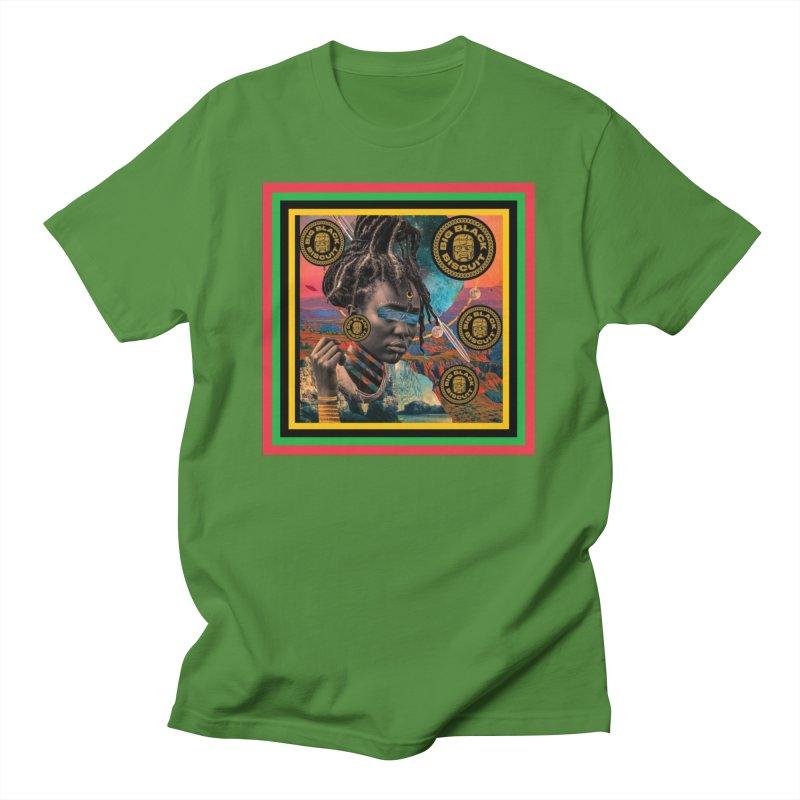 Rasta Queen Men's T-Shirt by BigBlackBiscuit's Artist Shop