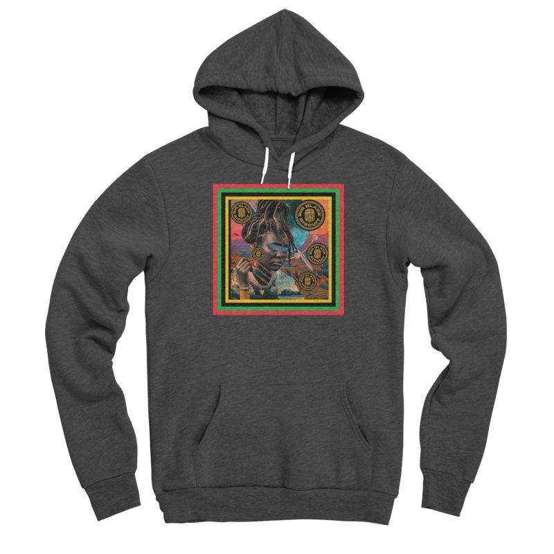 Rasta Queen Men's Pullover Hoody by BigBlackBiscuit's Artist Shop