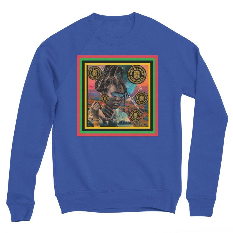 Rasta Queen Men's Sweatshirt by BigBlackBiscuit's Artist Shop