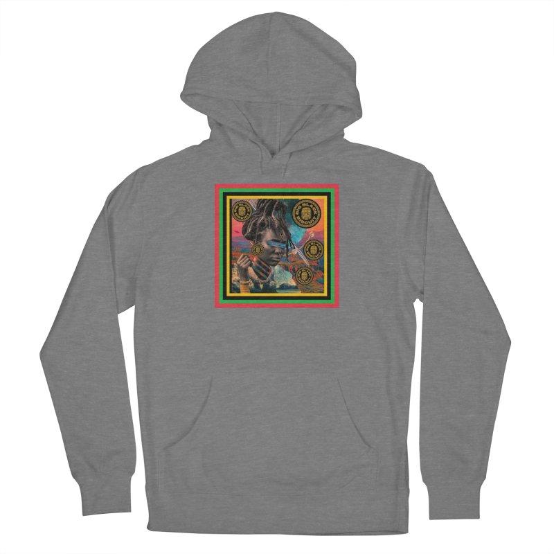 Rasta Queen Women's Pullover Hoody by BigBlackBiscuit's Artist Shop