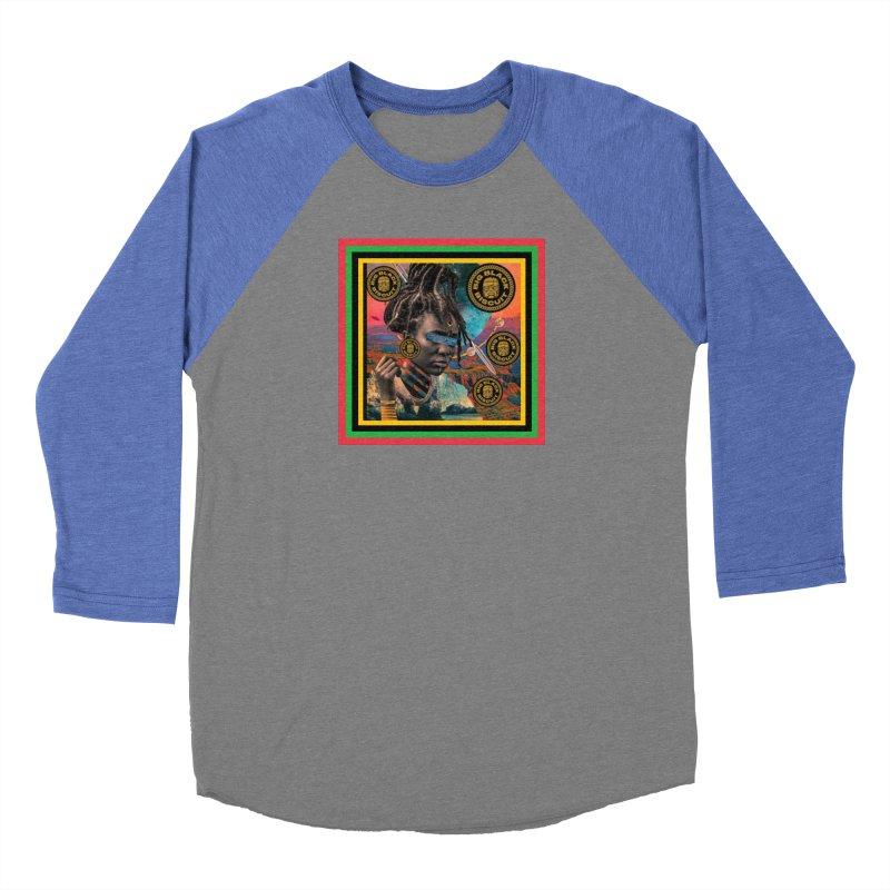 Rasta Queen Men's Longsleeve T-Shirt by BigBlackBiscuit's Artist Shop