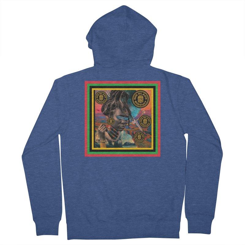Rasta Queen Women's Zip-Up Hoody by BigBlackBiscuit's Artist Shop