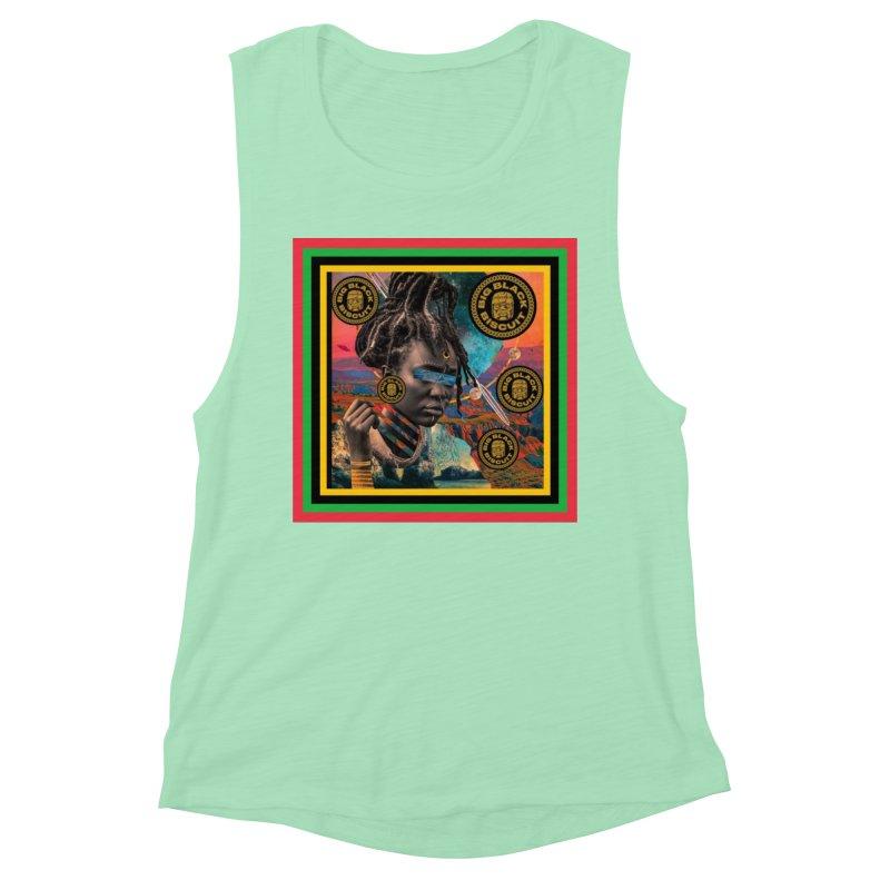 Rasta Queen Women's Tank by BigBlackBiscuit's Artist Shop