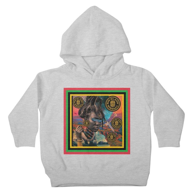 Rasta Queen Kids Toddler Pullover Hoody by BigBlackBiscuit's Artist Shop
