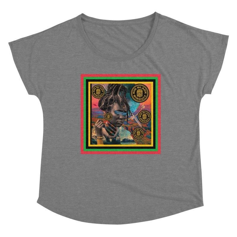 Rasta Queen Women's Scoop Neck by BigBlackBiscuit's Artist Shop