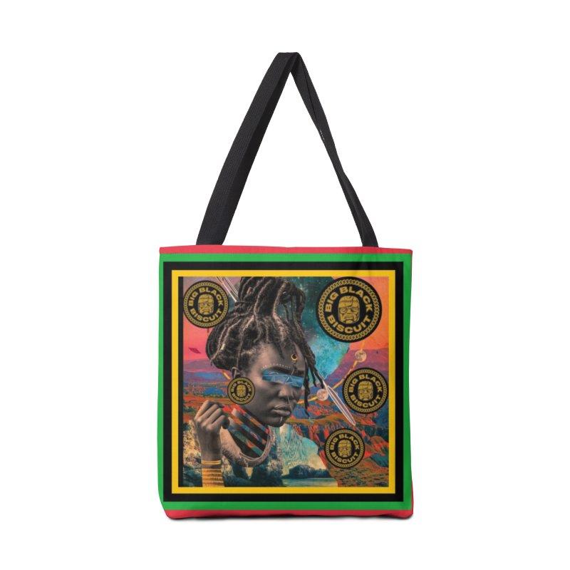 Rasta Queen Accessories Bag by BigBlackBiscuit's Artist Shop