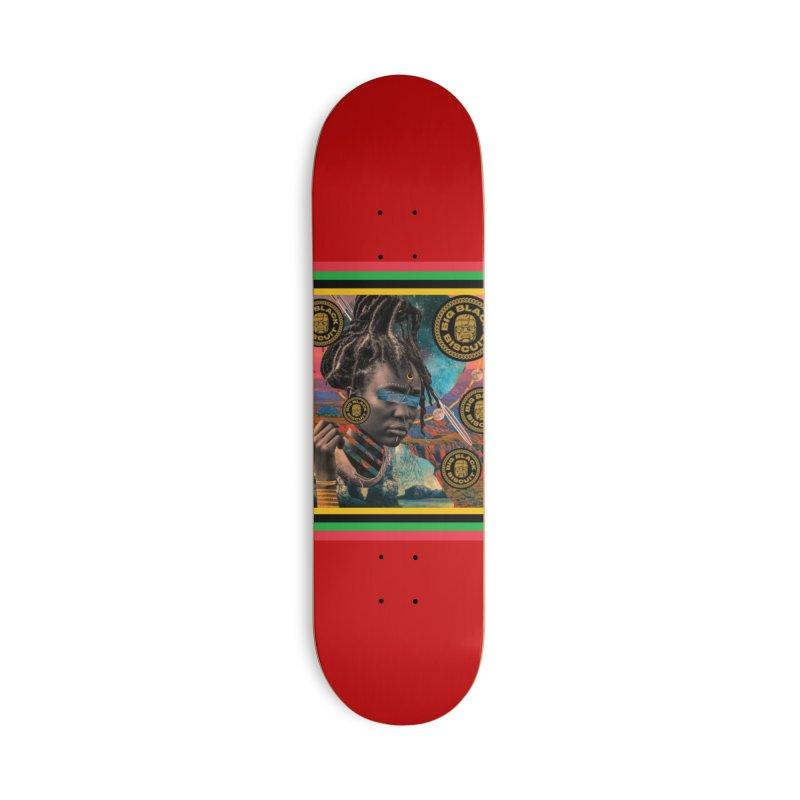 Rasta Queen Accessories Skateboard by BigBlackBiscuit's Artist Shop