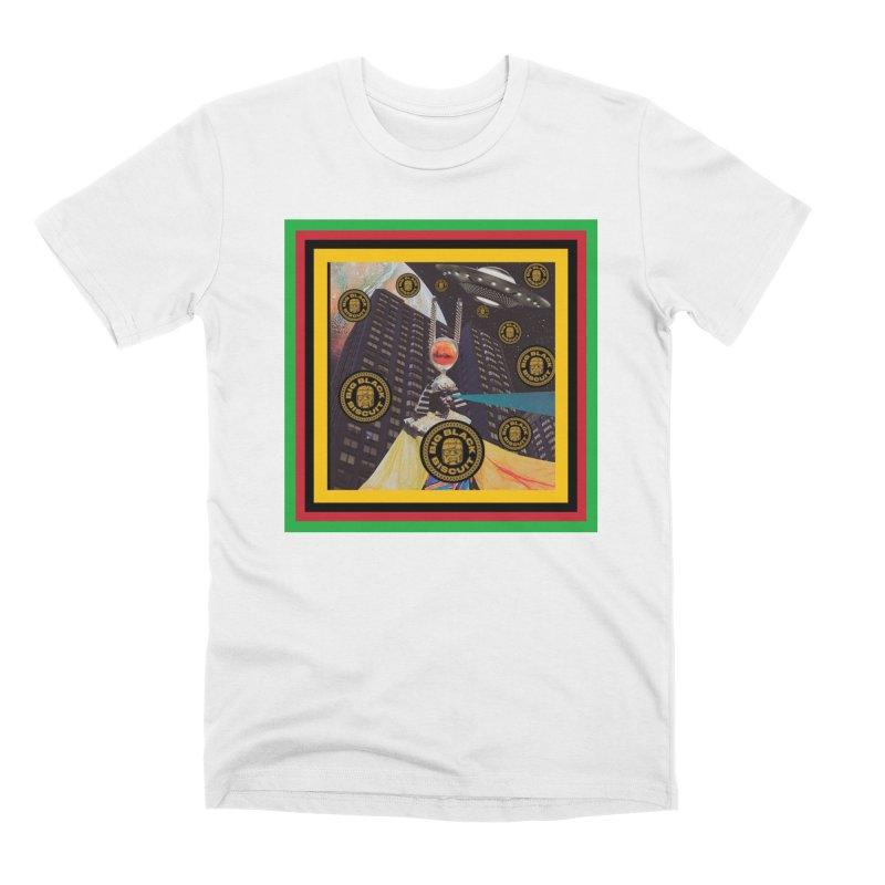 Moonbeam UFO Men's T-Shirt by BigBlackBiscuit's Artist Shop