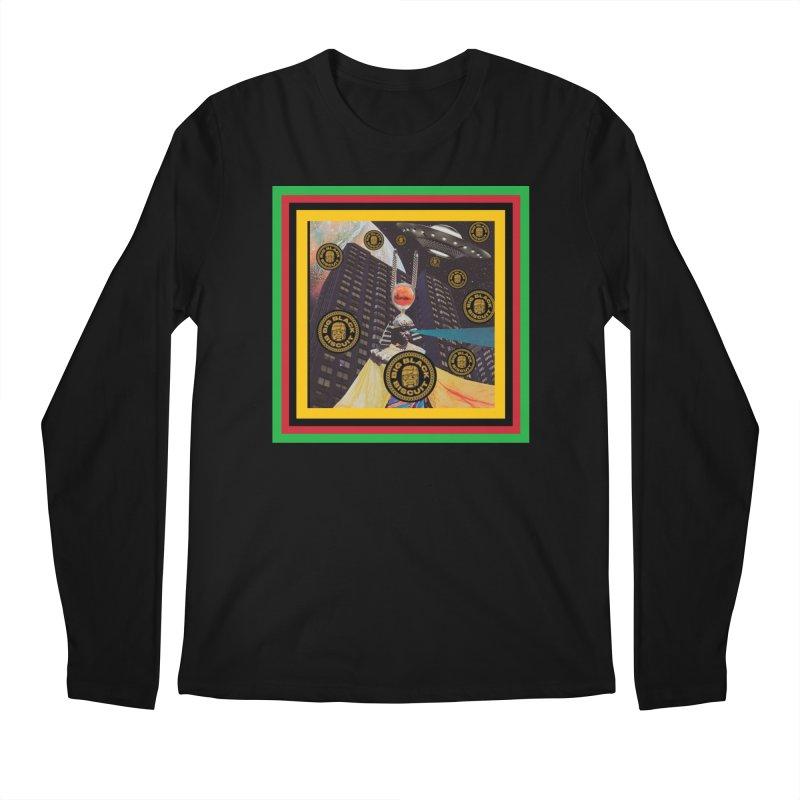 Moonbeam UFO Men's Longsleeve T-Shirt by BigBlackBiscuit's Artist Shop