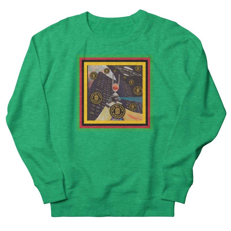 Moonbeam UFO Women's Sweatshirt by BigBlackBiscuit's Artist Shop