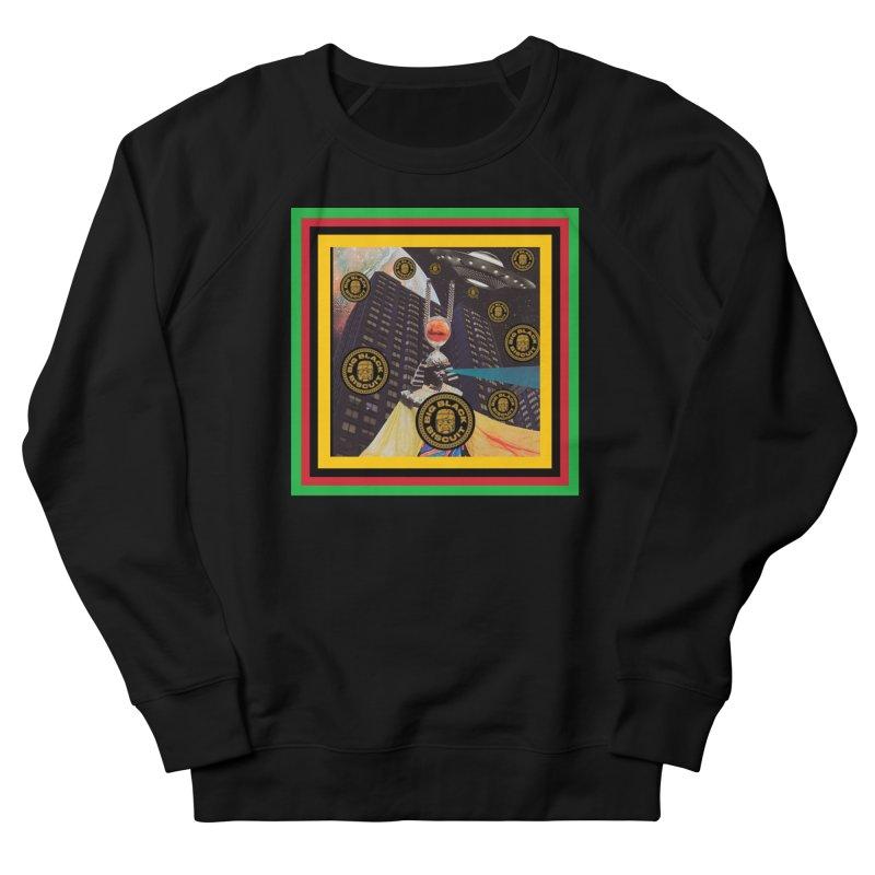 Moonbeam UFO Men's Sweatshirt by BigBlackBiscuit's Artist Shop