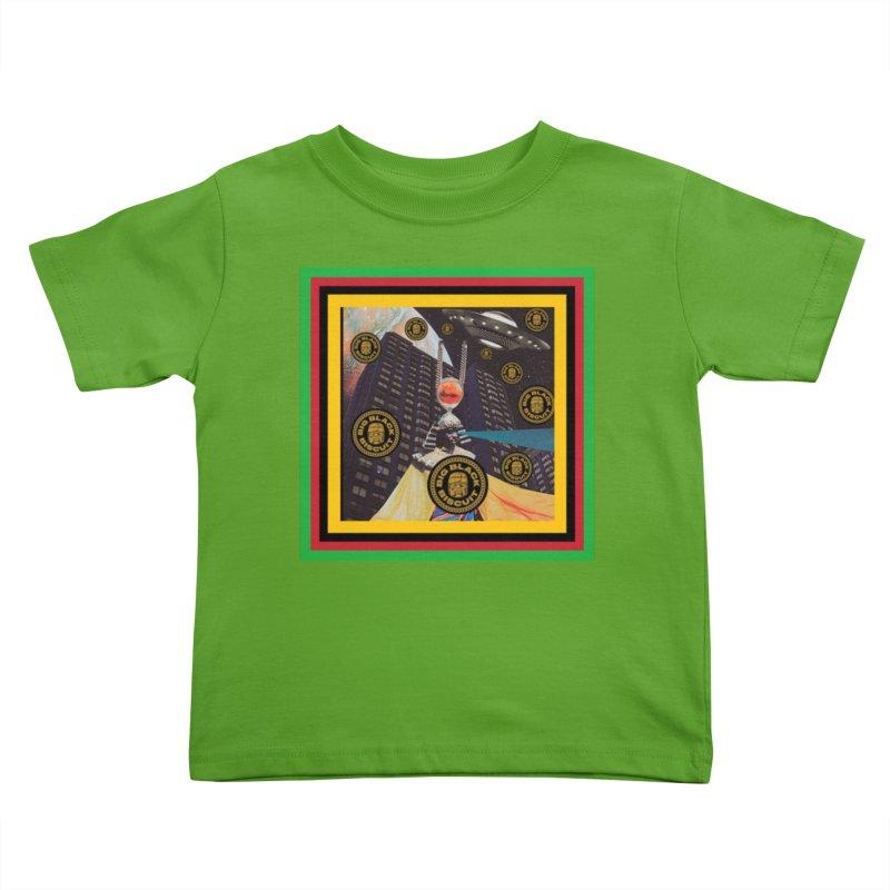 Moonbeam UFO Kids Toddler T-Shirt by BigBlackBiscuit's Artist Shop