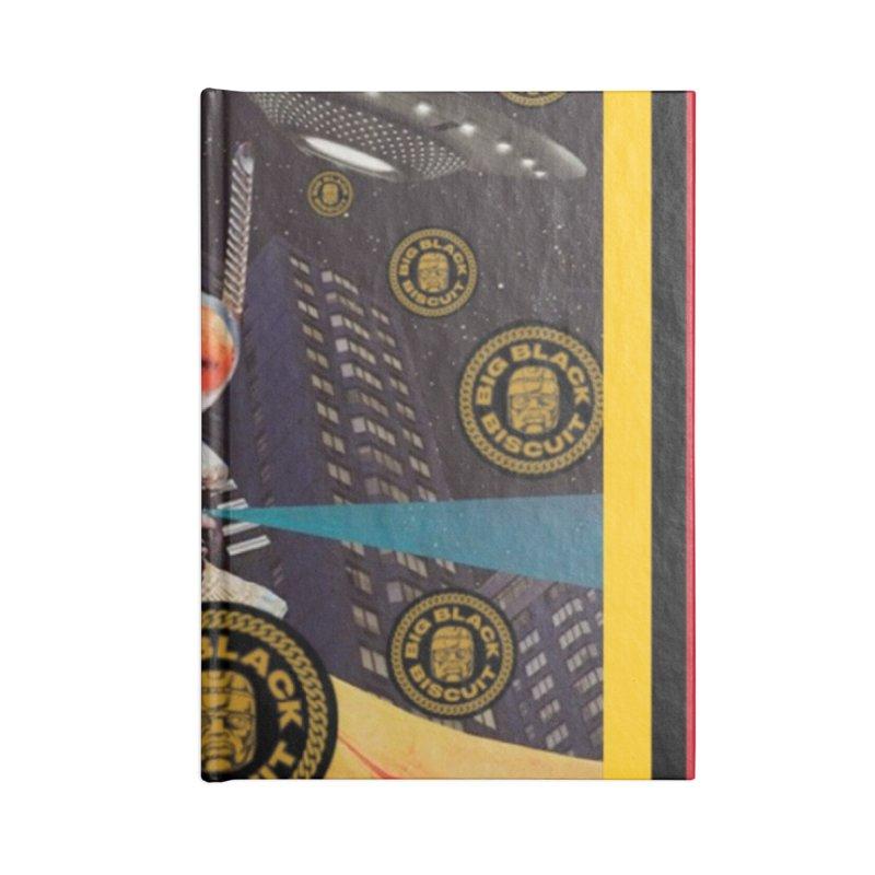 Moonbeam UFO Accessories Notebook by BigBlackBiscuit's Artist Shop