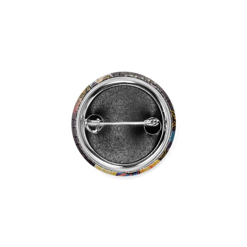 Moonbeam UFO Accessories Button by BigBlackBiscuit's Artist Shop