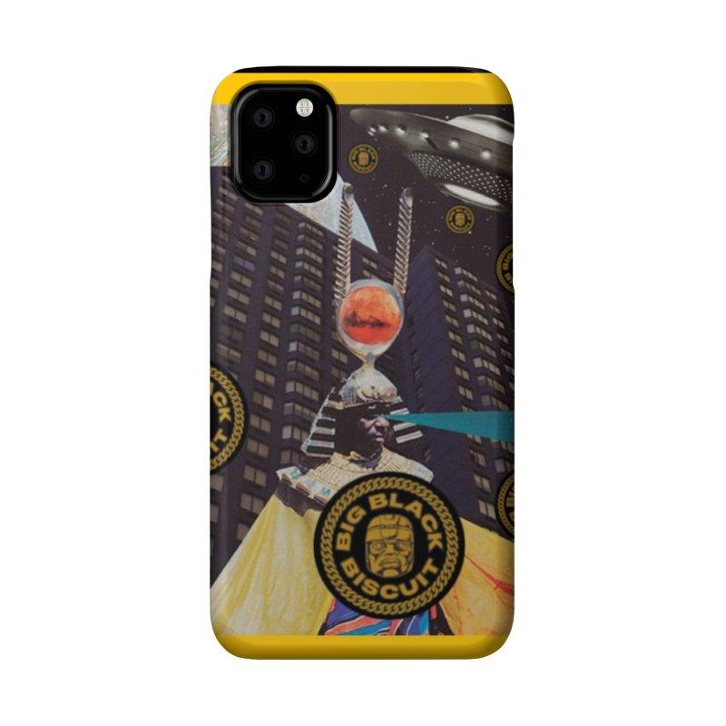 Moonbeam UFO Accessories Phone Case by BigBlackBiscuit's Artist Shop