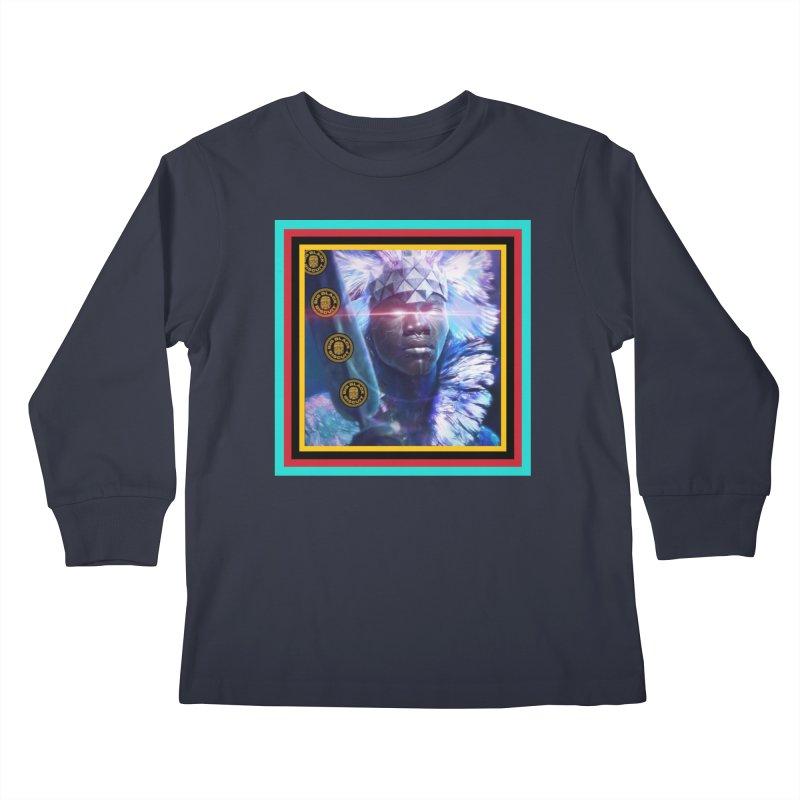Antarctica Alliance Kids Longsleeve T-Shirt by BigBlackBiscuit's Artist Shop