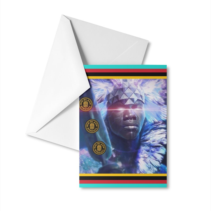 Antarctica Alliance Accessories Greeting Card by BigBlackBiscuit's Artist Shop