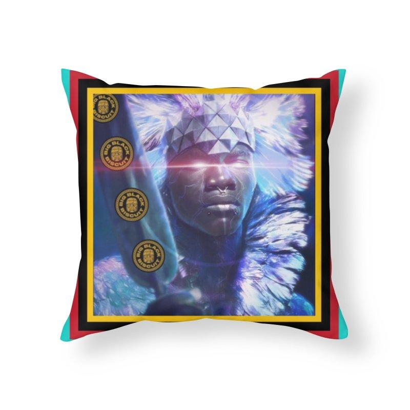 Antarctica Alliance Home Throw Pillow by BigBlackBiscuit's Artist Shop