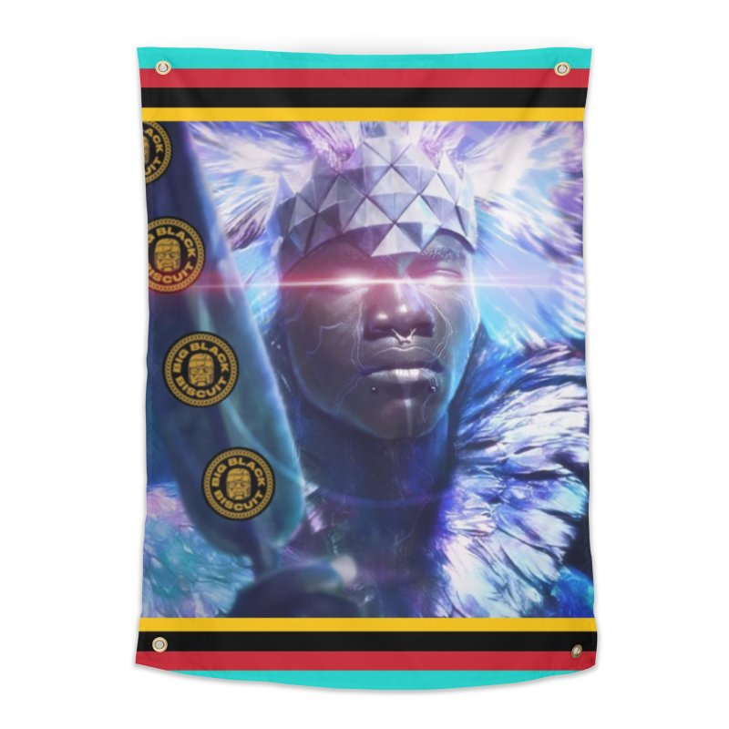 Antarctica Alliance Home Tapestry by BigBlackBiscuit's Artist Shop